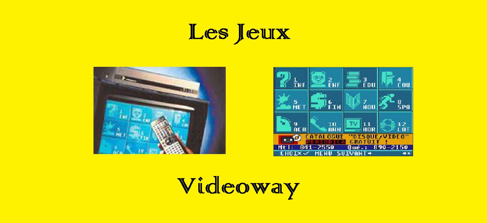 banière jeux videoway